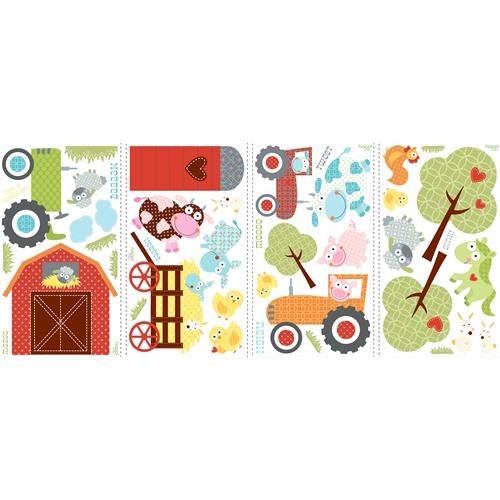 Väggdekor Alfabetet : Fin bondgård väggklistermärken bästa pris på barnrum väggdekor