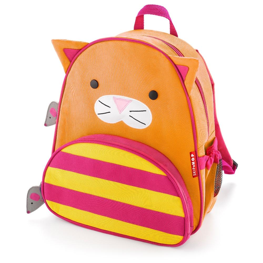 Fin Skip Hop Zoo Pack Ryggsäck Katt . Bästa pris på Skip Hop 1bc6d10b250fa